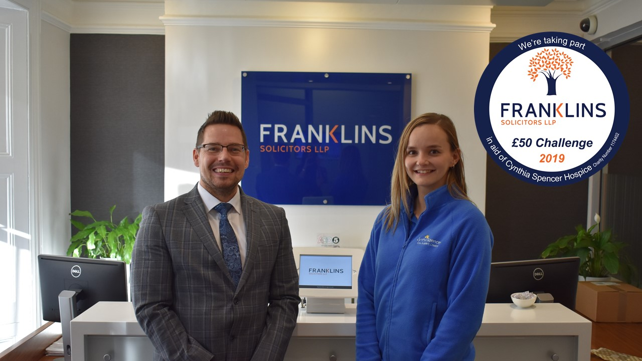 Franklins 50 Challenge 2019 launch photo
