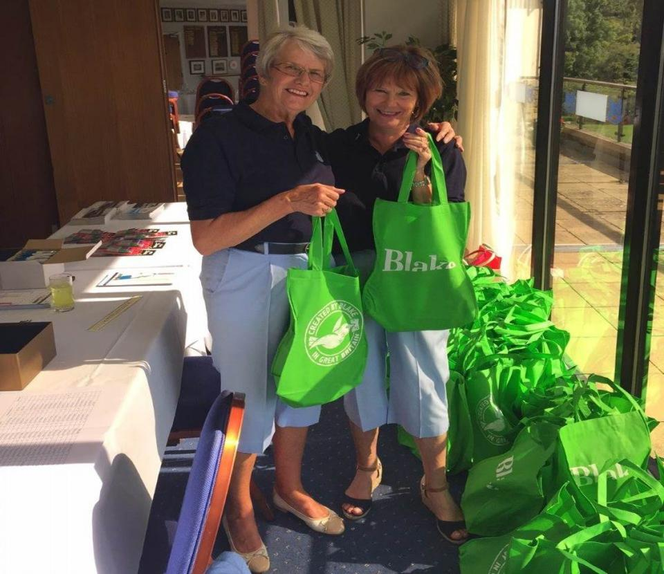SetWidth960 Bluefish golf day goody bags