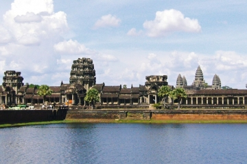 Angkor Wat from moat