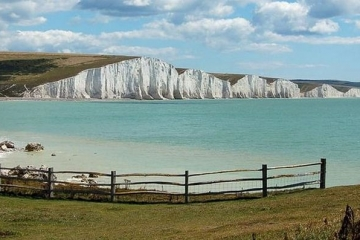 seven sisters chalk cliff sussex